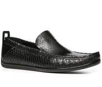 Schuhe Slipper, Leder,