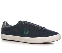 Schuhe Sneaker Veloursleder marine