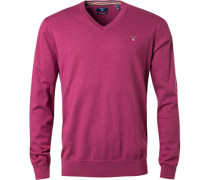 Pullover, Baumwolle-Wolle, pink
