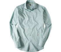 Oberhemd, Baumwolle, gemustert