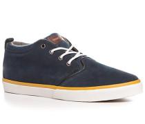 Schuhe Sneaker Veloursleder-Textil navy