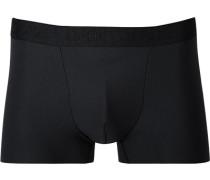 Herren Unterwäsche Trunk Microfaser-Stretch schwarz