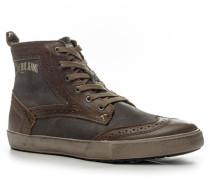 Schuhe 'Borgn' Leder -blau