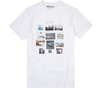 T-Shirt, Core Fit, Baumwolle,