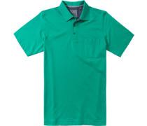 Polo-Shirt Polo, Pima Baumwoll-Jersey, hellgrün