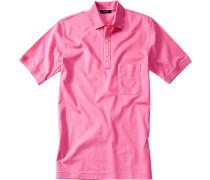 Polo-Shirt Polo, Baumwoll-Piqué, pink