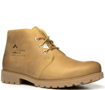 Herren Schuhe Schnürstiefeletten Kalbleder sand beige