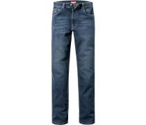 Jeans, Denimstretch, dunkelblau