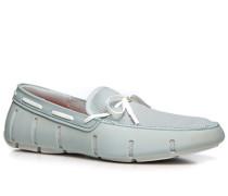 Schuhe Loafer Kautschuk eisblau