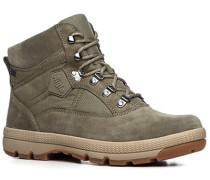 Schuhe Stiefelette, Leder-Microfaser Gore-Tex®, khaki