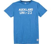 T-Shirt Baumwolle himmelblau