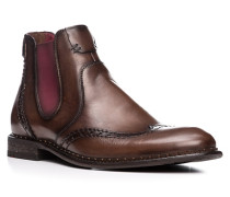 Herren Schuhe GRENOBLE Kalbleder dunkelbraun
