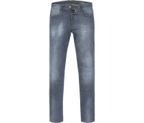 Jeans Modern Fit Baumwoll-Stretch