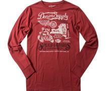 T-Shirt Longsleeve, Baumwolle,