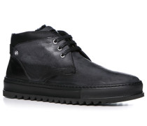 Schuhe Desert Boots Nubukleder dunkelgrau-schwarz ,beige,schwarz