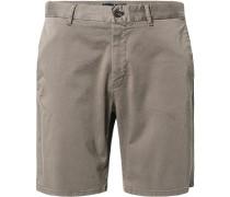 Hose Bermudashorts Modern Fit Baumwolle khaki