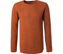 Pullover Wolle-Kaschmir meliert