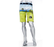 Hose Bermudashorts Earnie Regular Slim Fit Baumwolle multicolour