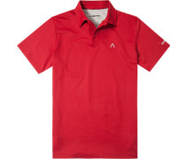 Herren Polo-Shirt Polo DryComfort rot
