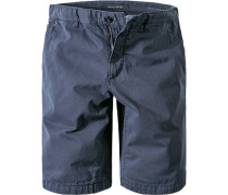 Hose Bermudashorts Regular Fit Baumwolle navy