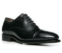 Herren Schnürschuhe Kalbleder schwarz schwarz,braun