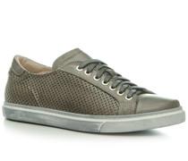 Herren Schuhe Sneaker Leder grau grau,beige