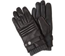 Handschuhe Lammleder -grau