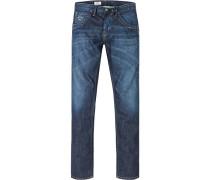Jeans Tooting Regular Fit Baumwolldenim jeansblau