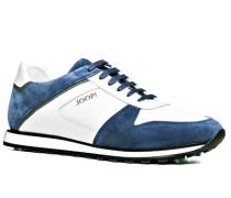 Herren Schuhe Senaker Material-Mix weiß-petrol blau,weiß,weiß
