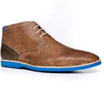 Herren Schuhe Stiefeletten Kalbleder cognac braun,braun