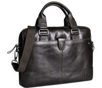 Herren Tasche  Business Bag Leder dunkelbraun