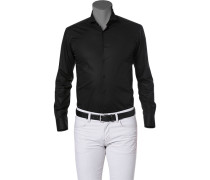 Hemd, Ultra Slim Fit, Popeline,
