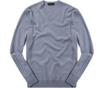 Pullover, Kaschmir, eisblau