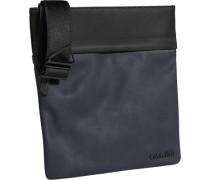 Calvin Klein Blue-Jeans Umhängetasche PVC-Microfaser marine-schwarz