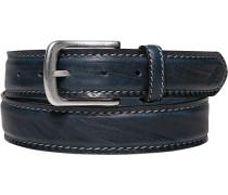 Gürtel dunkelblau Breite ca. 3,5 cm
