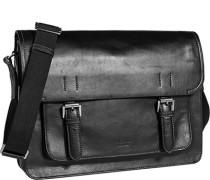 Herren Tasche  Tasche Leder schwarz