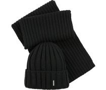 Schal+Mütze Wolle