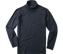 Pullover, Baumwolle, navy
