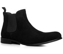 Schuhe Chelsea Boots Veloursleder