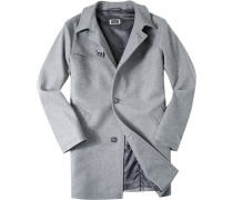 Mantel Wolle meliert