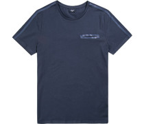 T-Shirt Baumwolle marine