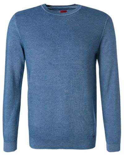 Pullover Pulli, Schurwolle, rauchblau