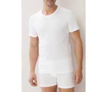 T-Shirt Baumwolle oder schwarz