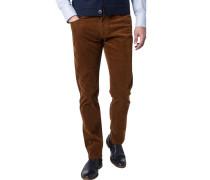 Cord-Jeans, Regular Fit, Baumwoll-Stretch,
