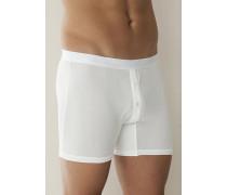 Unterwäsche Boxer-Shorts Seide weiß oder