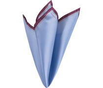 Accessoires Einstecktuch, Seide, blau