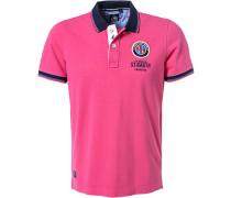 Polo-Shirt Polo Baumwoll-Piqué pink