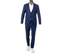 Anzug Woll-Stretch