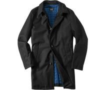 Herren strellson Premium Mantel Jeffrey wattiertes Steppfutter schwarz schwarz,blau