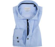 Hemd, Modern Fit, Baumwolle, gestreift